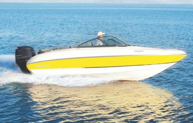 Lancha Ventura 180 com Motor Mercury 60HP-CT - pronta para navegar - Foto 6