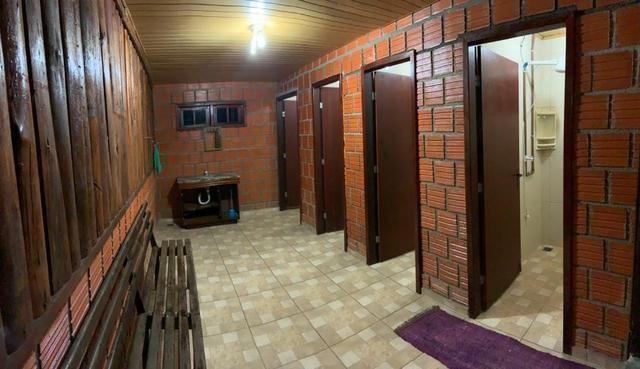 Chácara com Duas Casas rústicas (6 quartos), lado do Rio Palmital - Foto 18