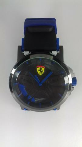 eaf7acd010b Relógio Ferrari Borracha Masculino Autêntico E Estiloso ...