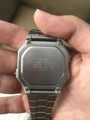 e3b1979dc3b Relógio Casio G-Shock Ga-100bbn-1 Pulseira Tecido Nylon ...