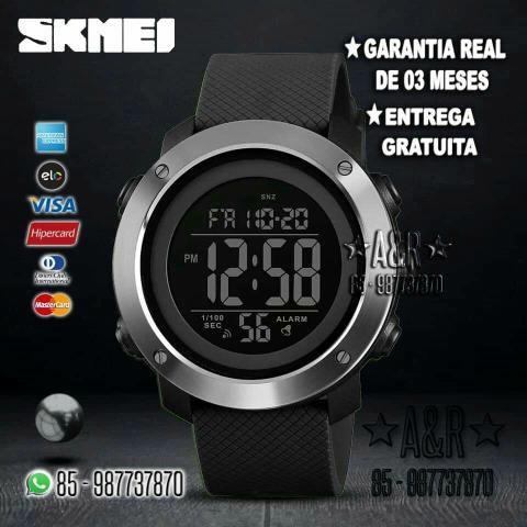 33e6d33b9c8 Skmei com Entrega Gratuita e Garantia real. Relógio Original Sport  Multifuncional