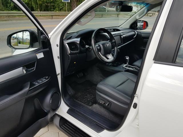 Hilux SRV 2016 Único Dono Rodas SRX 2.8 Automática 4x4 pneus Novos - Foto 6