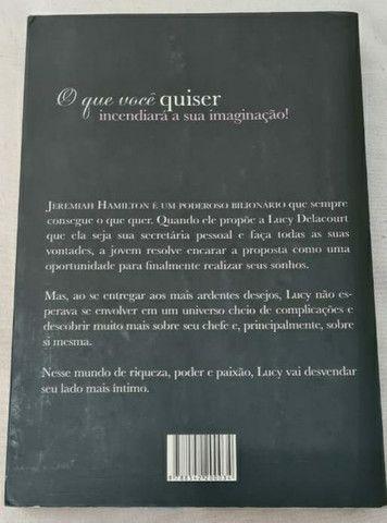 Livro: O que você quiser - Envolvida por um bilionário - Sara Fawkes - Foto 2
