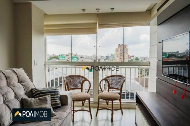 Apartamento com 2 dormitórios para alugar, 60 m² por R$ 2.652,00/mês - Cristo Redentor - P - Foto 9