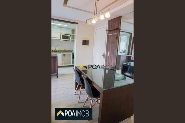 Apartamento com 2 dormitórios para alugar, 60 m² por R$ 2.652,00/mês - Cristo Redentor - P - Foto 13