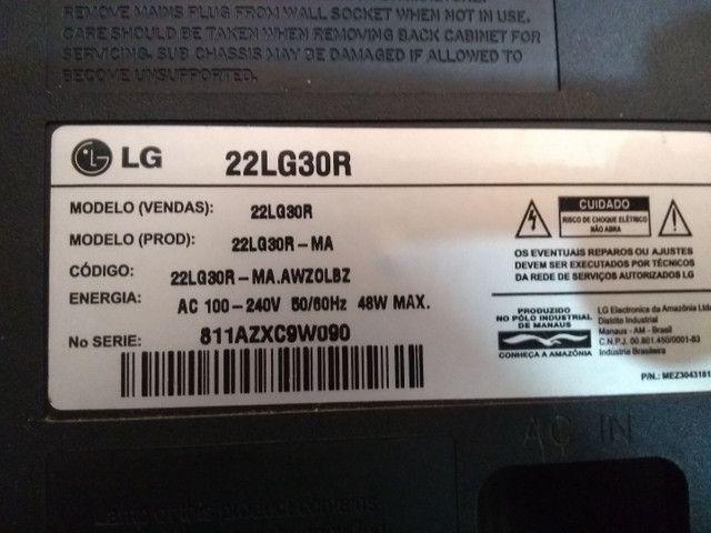 Tela Tv Monitor LG 22lg30r - Foto 4