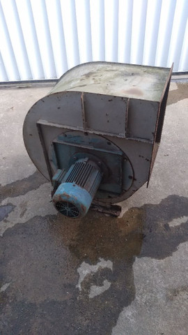 Exaustor Centrífugo Industrial Motor 5cv Trifásico