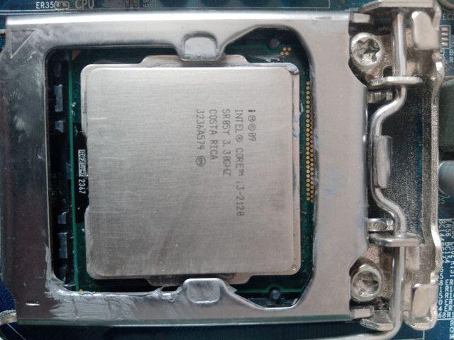 Kit i3 2120 + 8Gb RAM + Placa mae - Foto 2