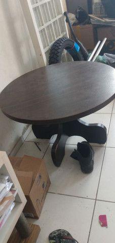 Vendo mesa de centro redonda