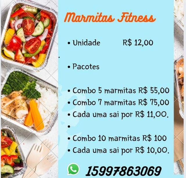 Marmitas Fitness - Vida Saudável, OpçãoPrática e Rápida - Foto 3