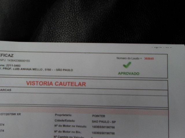 Peugeot 207 sw xr 1.4 flex,completo ,aceito troca, financio em até 48x - Foto 10