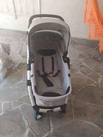 Carrinho Galzerano com Moises + Bebê Conforto - Foto 4