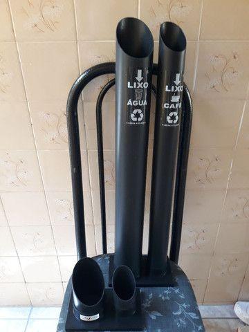 Dispenser e suporte de copo descartável  - Foto 2