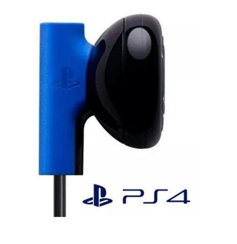 Fone De Ouvido Auricular Microfone Ps4 Original Com Fio Sony NOVO