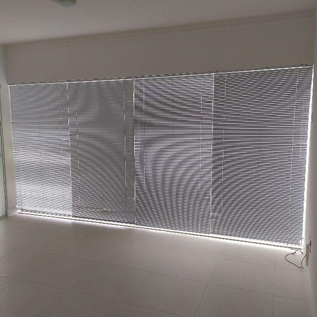 4 Persianas Horizontais Alumínio 2,14 x 1,12 m - Foto 2
