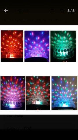 Kit iluminação festa DJ total diversão - Foto 6