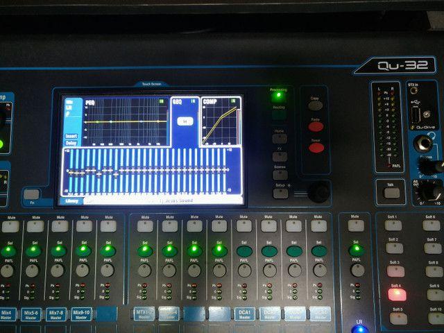Mesa de som digital 32 canais Allen Heath - Foto 6