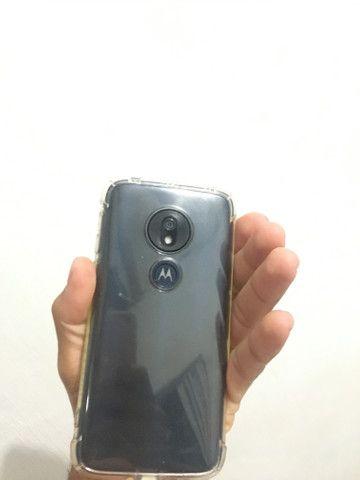 Moto G7 Play de 32gb ,Cor preto , Algumas marcas de uso , Funcionando perfeitamente Tudo - Foto 3