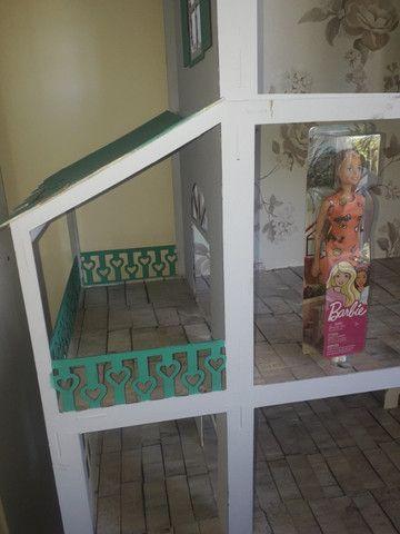 Casa boneca barbie mdf grande - Foto 2