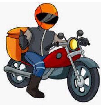 Vaga para moto boy