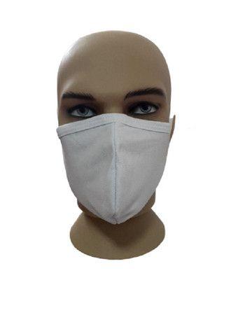 Máscara de tecido duplo lávavel, á partir de 100 pçs 1,00