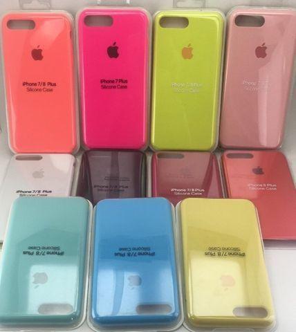 Capa Case IPhone 6 6plus 8 7 Plus Xs Max Xr 11 Pro Max Aveludada Original - Foto 2