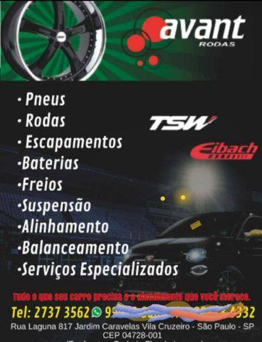 Roda aro 20 Porsche Prata Volkswagen Fox 5X100 jogo - Foto 3