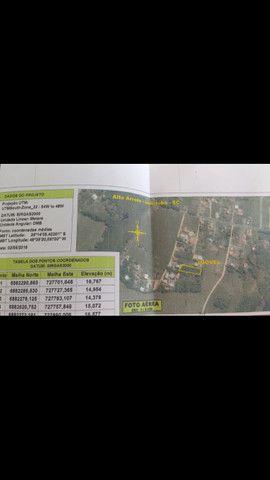 Vendo ou troco terreno Ibiraquera em Imbituba-SC por imóvel na praia do sonho-Palhoça - Foto 9