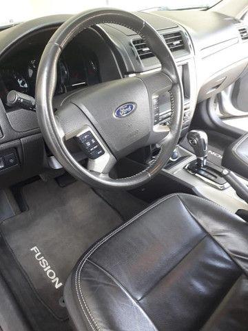 Fusion Prata 3.0 AWD 2012- completo com Teto - Foto 2