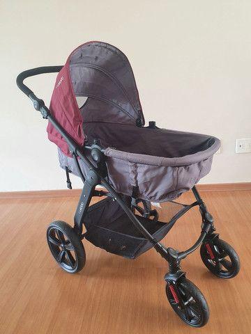 Carrinho Kiddo Galaxy + bebê conforto + base