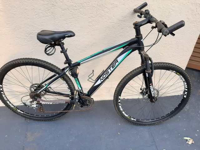 Vendo bicicleta aro 29 quadro 17