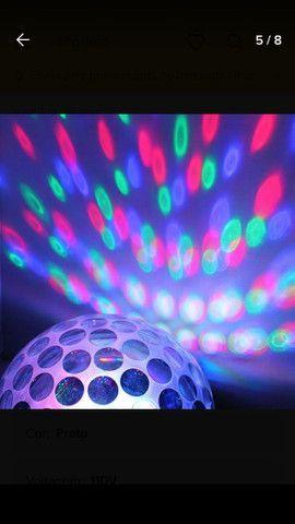 Kit iluminação festa DJ total diversão - Foto 4