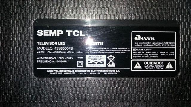 Smart TCL 43, sem display - Foto 3