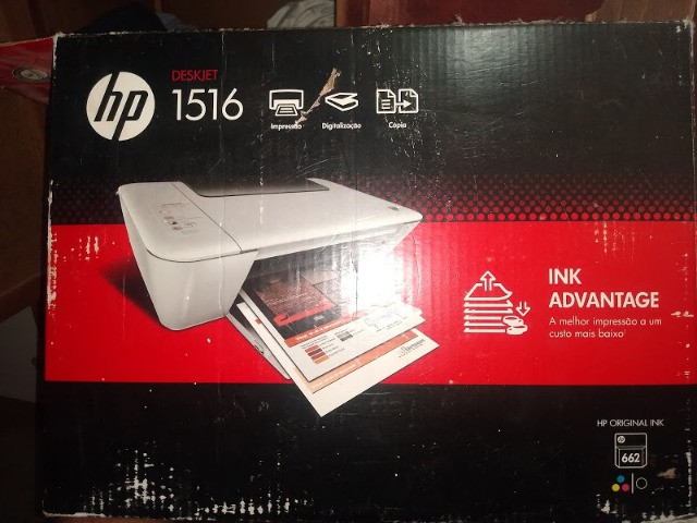 Impressora HP Deskjet 1516 - Foto 5