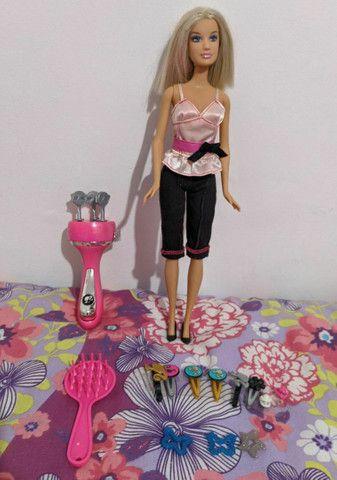 Barbie Ultra Hair Tranças com todos acessórios - Foto 2