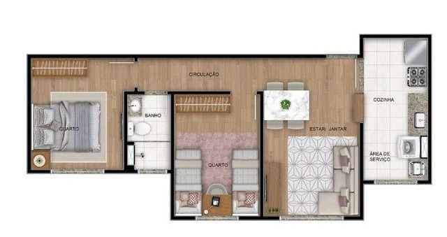 Apartamento à venda, 47 m² por R$ 170.000,00 - Cidade Satélite - Natal/RN - Foto 11