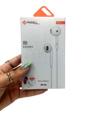 Fone de ouvido conector tipo C - Foto 4