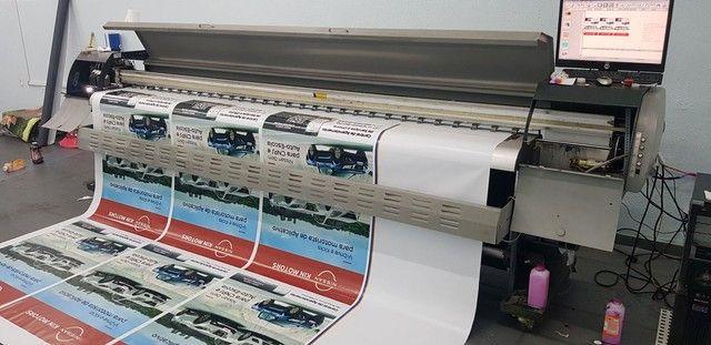 Máquina de impressão 3.20m cabeça seiko  - Foto 2