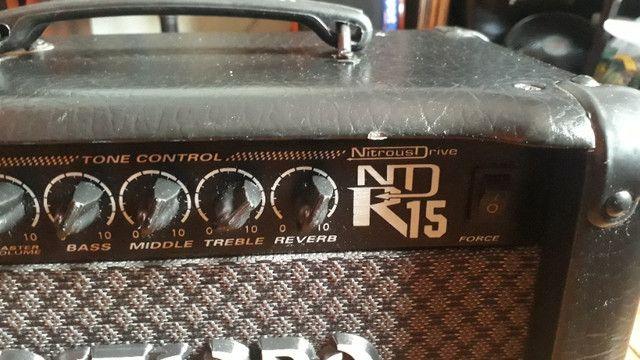 Amplificador Meteoro Nitrous Drive R15 - Foto 5