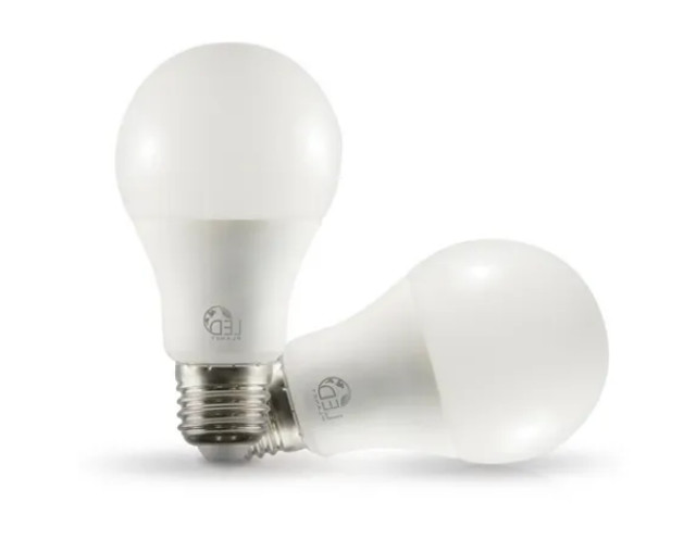Lâmpada 9w Led Bulbo E27 3000k Branco Quente