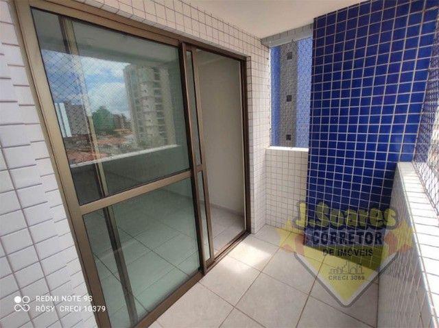 Tambaú, 3 quartos, 2 suítes, 100m², R$ 1.800, Aluguel, Apartamento, João Pessoa - Foto 3