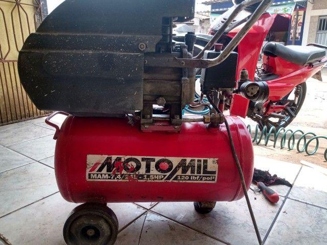 Compressor MOTOMIL 24L - Foto 3