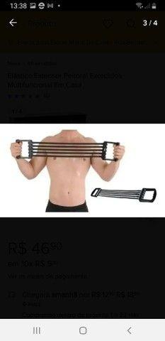 Expander extensor elástico para exercícios físicos
