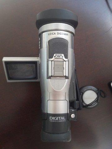 Filmadora Panasonic modelo NVMX300-EN Leica Dicomar 3CCD, 2 baterias, carregador, Mini DV - Foto 5