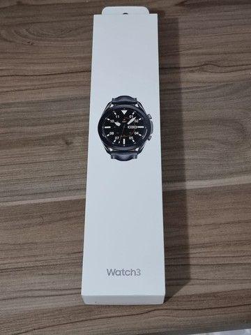 Smartwatch Samsung Galaxy Watch 3 - 45 mm - preto