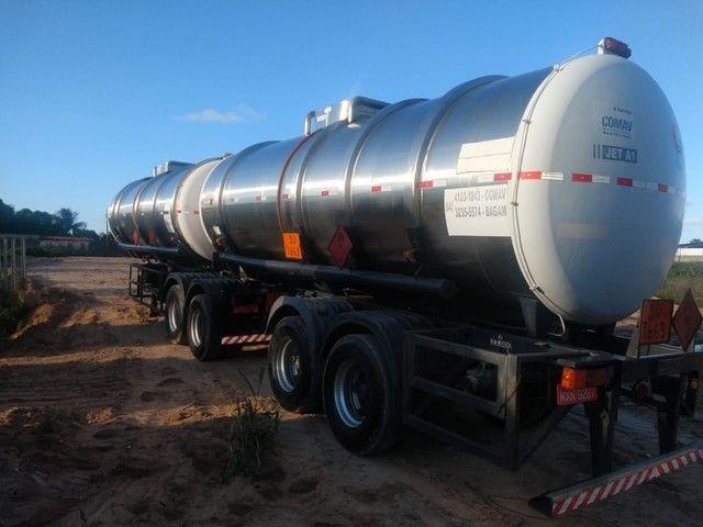 Bitrem tanque inox impecável Aceito caminhonete diesel no negócio - Foto 9