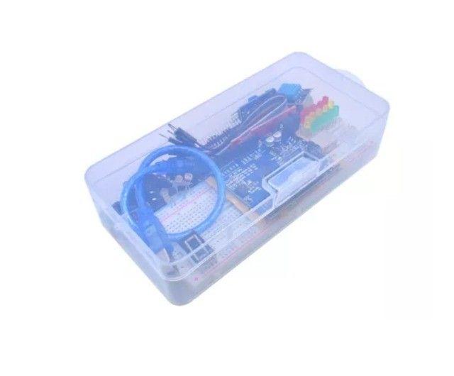 Kit Arduino Uno. Brinde Caixa Plástica - Foto 2