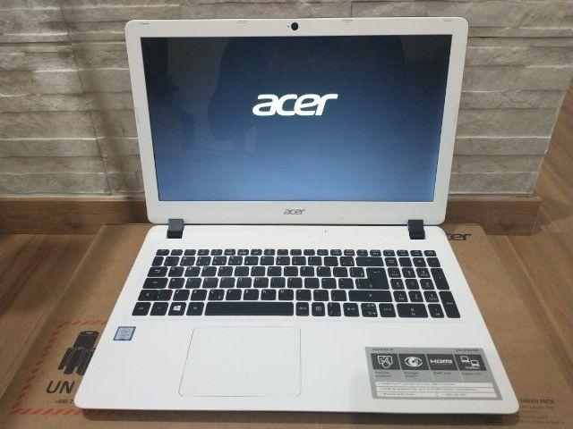 Notebook Acer Branco +Intel Core i3-6006U +DDR4 8Gb +SSD 240Gb - Foto 2