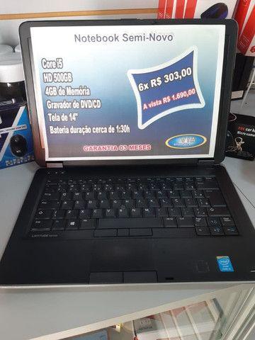 Notebook Dell   Core i5  4GB   500GB HD  Formatado C/Garantia - Foto 3