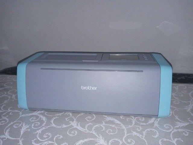 Impressora de Corte nova, modelo brother SDX125 - Foto 4